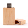 Wooden Pendrive with Laser engraved Logo