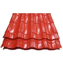 Easy to Install Pre-painted Corrugated Roof Steel Tile