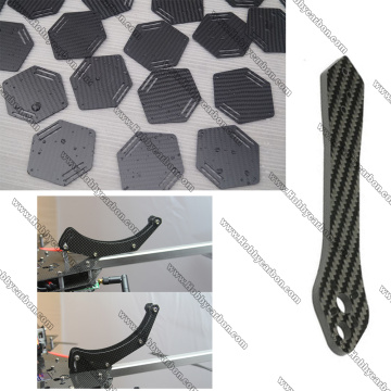 3.0x250x400mm buttom frame side plate carbon fiber sheet