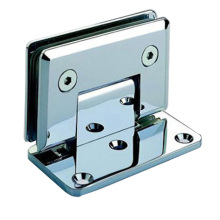 Stainless Steel \ Zinc Alloy Glass Hinge 90°