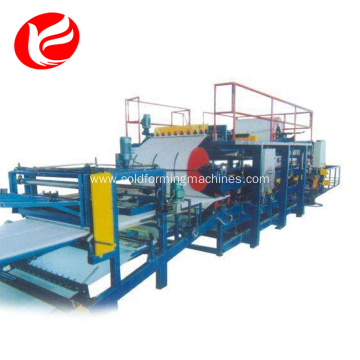PU sandwich panel roll forming machinery production line