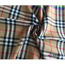 High Quality for Poly Blend Jacquard Fabric Colorful Checked Shirting Fabric supply to Chad Manufacturers