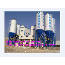 HZS50 concrete batching plant productivity 50m3/h