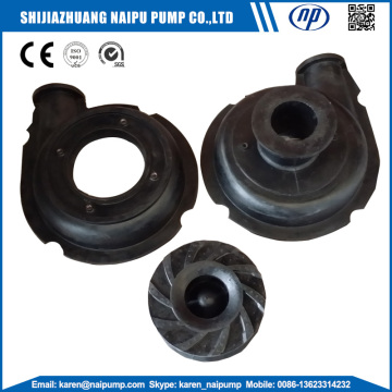 Natural Rubber Slurry Pump Parts