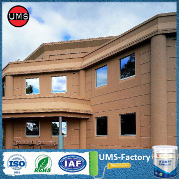 Exterior natural stone coating paint
