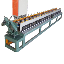 Door gate frame shaping machine