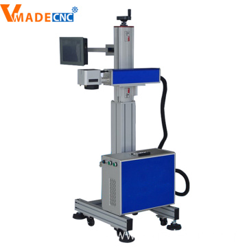 30w 50w Flying Fiber Laser Color Marking Machine