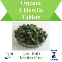 PAH4 Below 10 ppb Organic Chlorella Tablets
