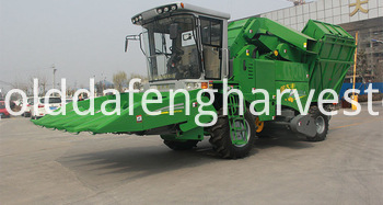 corn harvester machine in india