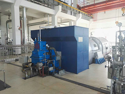 Garbage Power steam turbines