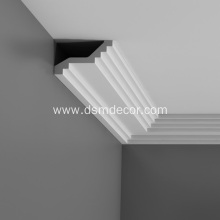 Factory Price for Trim Mouldings Elegant PU Plain Cornice Mouldings supply to Poland Importers