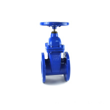 carbon steel A105 flange end stainless steel slide gate valves for water pipeline