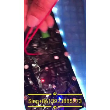 Outdoor flexible P4 led display screen