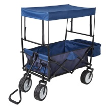Garden cart series Foldable collapsible wagon with canopy