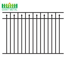 Fence manufacturers hot sale black wrought iron fence