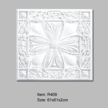 Popular Design for Carved Ceiling Tiles High Density Architectural PU Ceiling tiles supply to Japan Importers