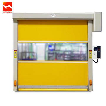 Industrial  High Speed PVC Roll up Doors