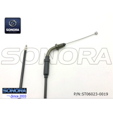 Qingqi Scooter QM125-2C Throttle cable assy