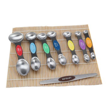 Magnetic Measuring Spoons Set of 8