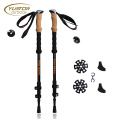 Ultralight 100% Carbon Fiber Backpacking Walking Stick