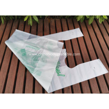 100% Compostable Supermarket Shopping Bags