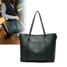 PU Leather Shoulder Handbag Tote Bag for Women