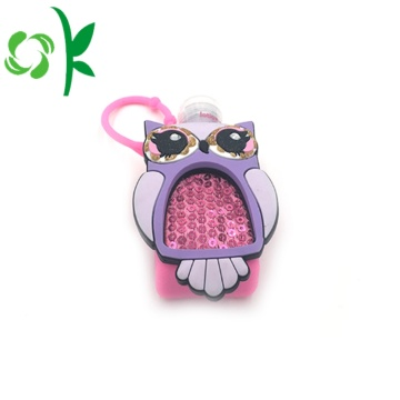 Decoration Protector Owl Animal Sanitizer Holder for Kids