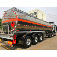 50000 Liters Air Suspension Aluminum Tolly Tanker Trailer