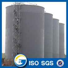 Corrugated Silo With Sweep Auger Steel