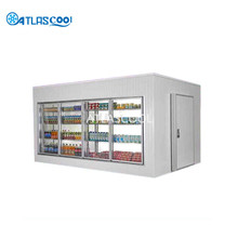 Big Supermarket Cold Room Fridge Freezer Room