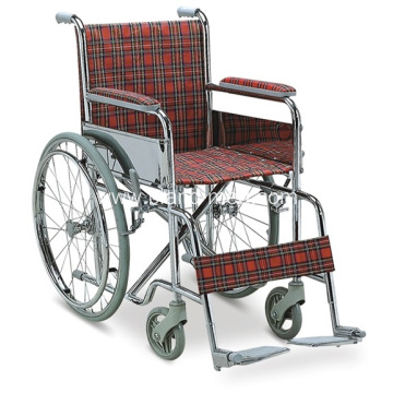 Standard Economy Children Medical  Steel Wheelchair