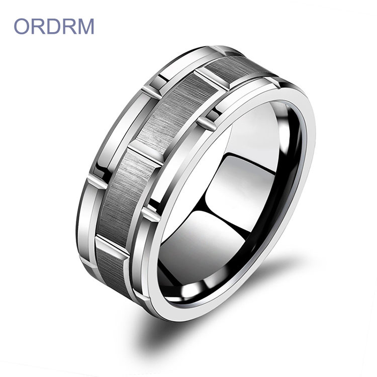 Custom Engraved Tungsten Rings