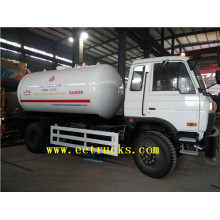 Special for Gas Cylinder Filling Truck Dongfeng 5000 Liters LPG Filling Trucks supply to Seychelles Suppliers