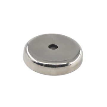 Holding force 63 KG Round Base Magnets RPM-B48