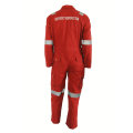 Red High Performance Flame Retardant Coverall Work Clothing