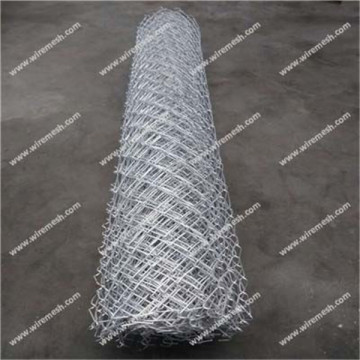 Chain link fence made of Aluminum clad steel