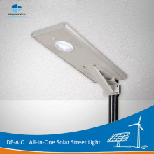 Personlized Products for All-In-One Solar Led Street Light DELIGHT DE-AIO 30W IP67 Integrated Solar Street Light export to Cayman Islands Exporter