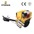 Sngle Wheel Construction Machinery Asphalt Compactor Inde
