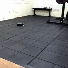 Environmental protection gym rubber flooring