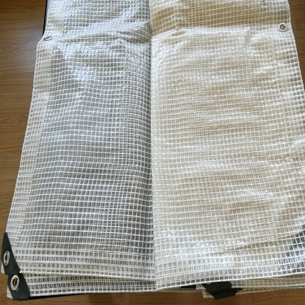 Clear grid Leno Mesh Reinforced Tarp Camping Tent