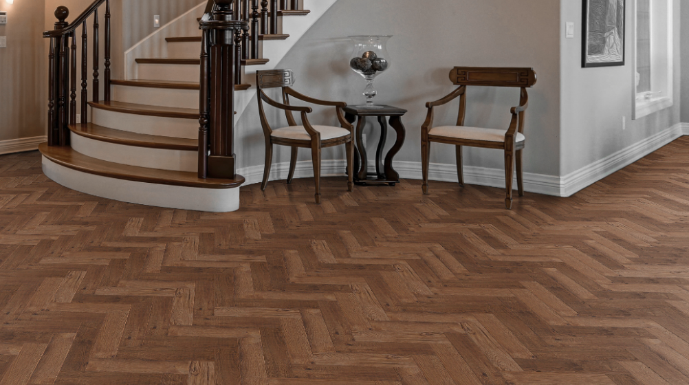 Parquet Floor Engineered Looking