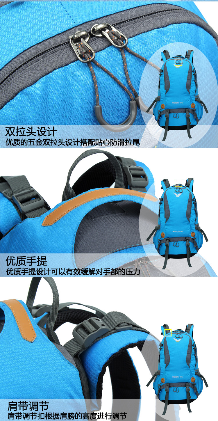 Internal Frame Backpack for outdoor