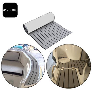 Light Grey & Black Marine EVA Foam Boat Decking