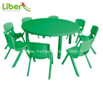 High quality round kids table and chairs