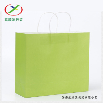 new style kraft paper shopping bag