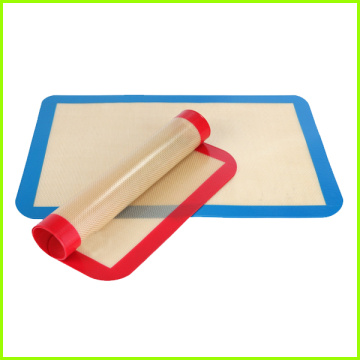 Non-Stick Reuseable Food Grade Bakeware Silicone half sheet
