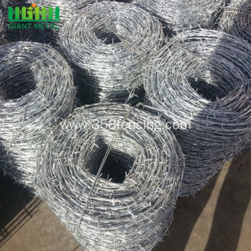 Low Carbon Steel Barbed Wire Fence for Sale
