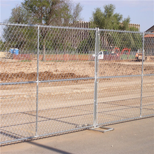Australia Hot Dipped Galvanized Temporary Fence For Sale