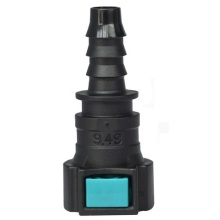Conductive Quick Connector 9.49 (3/8) - ID8 - 0° SAE