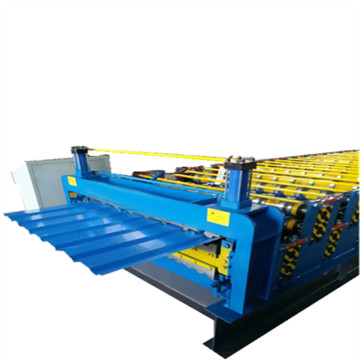 Profiles double layer roll forming machine